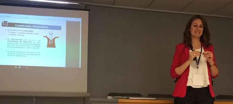 Estefanía Barrado ponente en Congreso ASEPCO APCAE