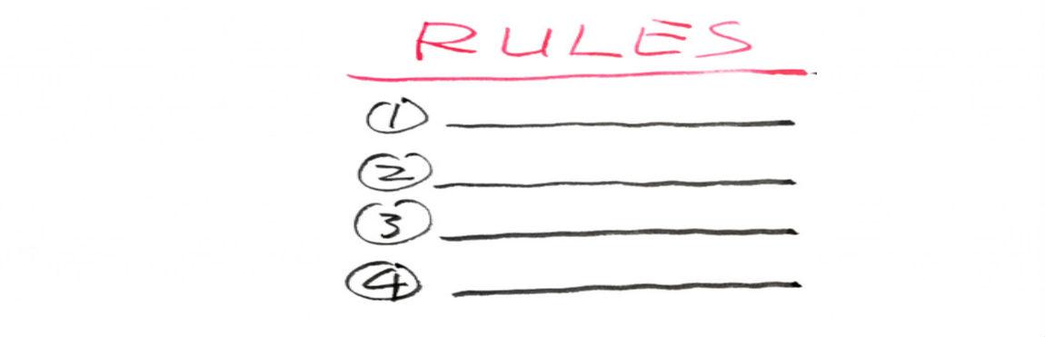 Cómo establecer reglas en casa